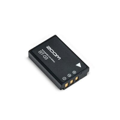 ZOOM Q8用リチャージャブル リチウム イオン バッテリー BT-03