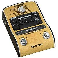 ZOOM AC-2 Acoustic Creator アコースティックギター用プリアンプ