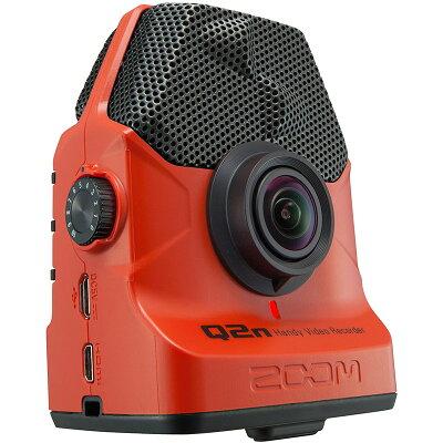 ZOOM ハンディビデオレコーダー Q2N/R