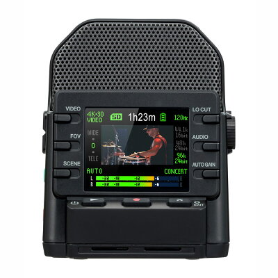 ZOOM 4Kハンディビデオレコーダー Q2N-4K