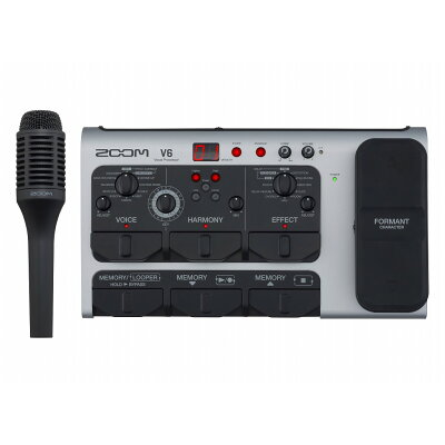 ZOOM V6 ボーカルプロセッサー