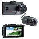 FRC ドライブレコーダー FC-DR222WE 一体型 /Full HD 200万画素 /前後カメラ対応