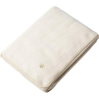 メイドインアース 綿毛布(シングル) きなり 140*200cm(1枚入)