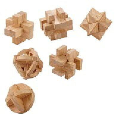 大人のための木製パズル 6種アソート 145-001
