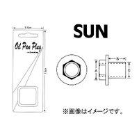 SUN/サン オイルパンドレンコック(パック式) ノンアスベストタイプ トヨタ車用 DCP009NA 入数:10個