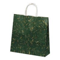 タカ印紙製品 紙袋 手提げバッグ HX風雅 グリーン色