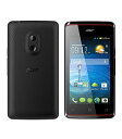 エイサー Acer SIMフリースマートフォン Liquid Z200 ブラック 未使用品 〓メーカー保証あり〓
