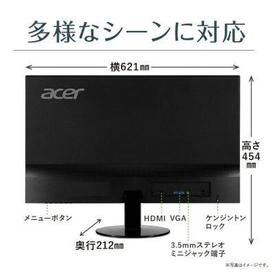 Acer 液晶モニター SA270Abmi 27インチ フレームレス IPS フルHD 4ms HDMI VGA端子