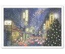 グリーティングライフ クリスマスカード 和風ミニサンタ スルーカード 有楽町 (SJ-23)(x14)