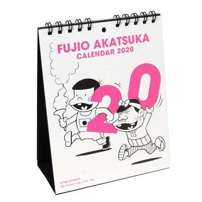 カレンダー 2020 卓上 FUJIO AKATSUKA C-1163-AF 赤塚不二夫 グリーティングライフ