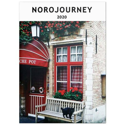 グリーティングライフ 2020年版 手帳 B6ダイアリー ヨーロッパを旅してしまった猫 CD-862-NH