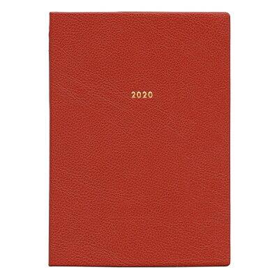 グリーティングライフ 2020年版 週間 モーメントプランナーA5ホリゾンタル 茶 CD-924-HT