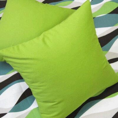 カラーオックス クッションカバー グリーン 45cm×45cm