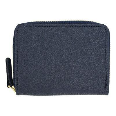 DELFONICS デルフォニックスキュリオジテラウンドカードケースお財布代わりにもカード入れCC11-DB ダークブルー 紺