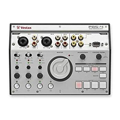 Vestax ライブ配信向け オーディオインターフェイス PBS-4