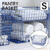 現代百貨 PANTRY BASKET シェルフ S BLUE