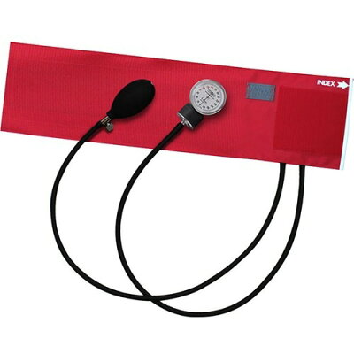 フォーカル アネロイド血圧計 FC-100V ナイロンカフ レッド(1台)