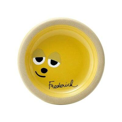 レオレオニ フレデリック カオ ナッピー皿 イエロー 278203 洋陶器 洋陶