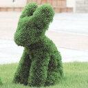 人工観葉植物 光の楽園/ラビット/395B300  06 造花 人工樹木 観葉植物 タ~ト トピアリー