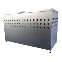 ゴミ収集庫 屋外用 ダストボックス DST-1100 (W1100×D500×H665mm)