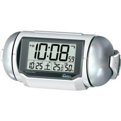 ピクシス 電波目覚まし時計 スーパーライデン NR523W(1台)
