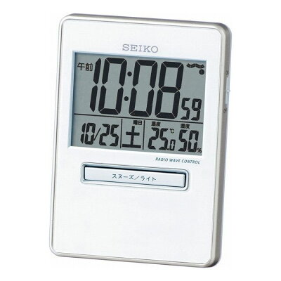 セイコー 電波目覚まし時計 トラベラ SQ699W(1台)