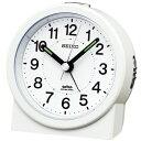 KR325W セイコークロック 電波目覚まし時計 電子音アラーム 見やすい目ざまし時計