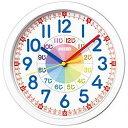 セイコー 知育時計 プラスチック枠 KX617W 白塗装(1コ入)