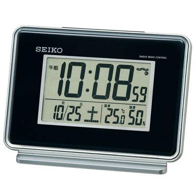 セイコー 電波目覚し時計 SQ767K(1台)