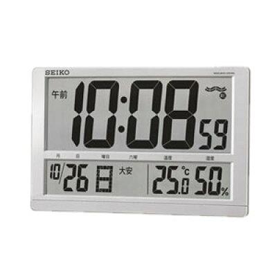 セイコー電波掛置兼用時計 SQ433S