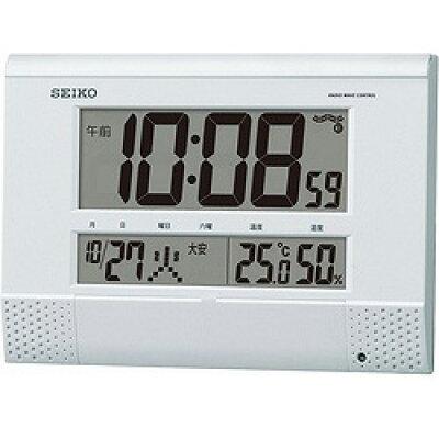 セイコー電波掛置兼用時計 SQ435W