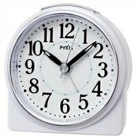 セイコー目覚まし時計 NR439W 白パール