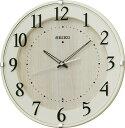 セイコー電波掛け時計 ナチュラルスタイル KX397A