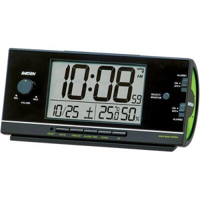 セイコー電波目覚まし時計 NR534K 黒