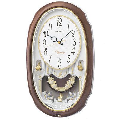 セイコー 電波からくり時計 ウェーブシンフォニー AM260A