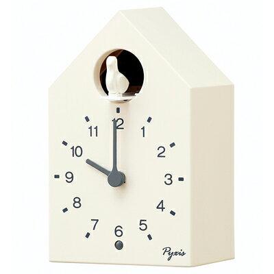 セイコー 掛け置き兼用時計 PYXIS ピクシス かっこう時計 NA610W