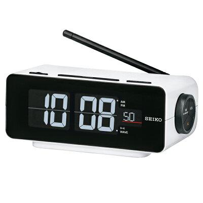 SEIKO C3FLIP 電波交流式目覚まし時計 DL213W