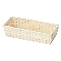 Bamboo バンブーバスケット 白竹製バスケット 25-70
