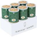 サバイバルフーズ 野菜のクリームパスタ 600g×6缶(60食相当品)