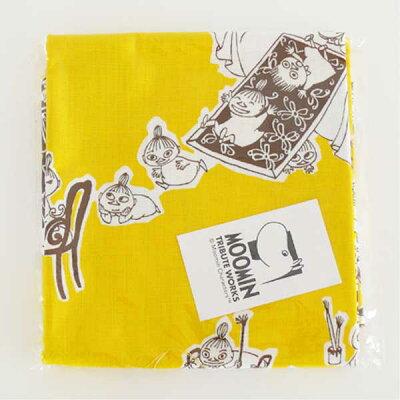 QUARTER REPORT MOOMIN ムーミン Cut cloth カットクロス 約150×60cm 1リピート分ミイがやって来た 色:イエロー