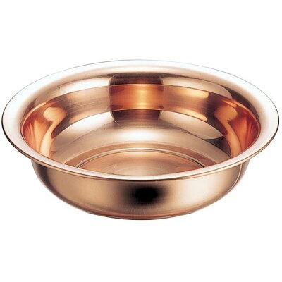 新光金属 純銅 洗面器 32cm S-9350 4.1L 6309600