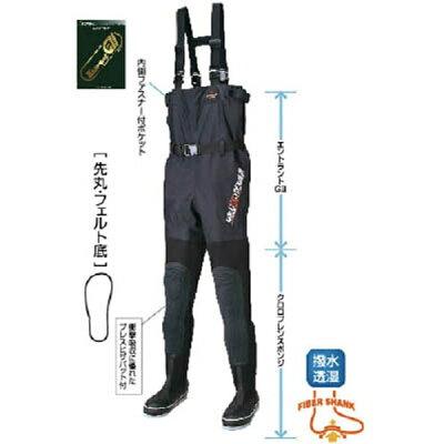 HANSHIN KIJI/阪神素地 FX-543 透湿スリムウェーダー 先丸 24.0cm X体 FX54324.0X