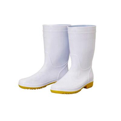 EBISU HM-7001 衛生長靴 23cm ホワイト HM-7001