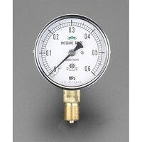ESCO エスコ その他の工具 100mm/0-1.0MPa圧力計 耐脈動圧型