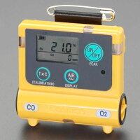 エスコ ESCO EA733AH-10 酸素・一酸化炭素濃度計