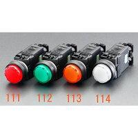ESCO エスコ その他の工具 AC110VLED表示灯 赤