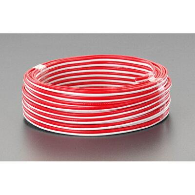 EA940AC-1 10mスピーカーコード 赤/白 EA940AC1