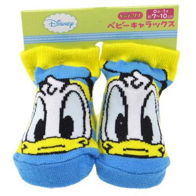 ベビーソックス 新生児はじめての靴下 ドナルドダック ストライプ ディズニー雑貨 赤ちゃんくつした 通販 ベルコモン