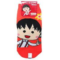 ちびまる子ちゃん 子供用靴下 キッズソックス/まる子ネオン
