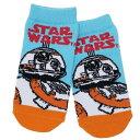 スターウォーズ 最後のジェダイ 子供用 靴下 キッズ ソックス エピソード8 BB-8ロゴ STAR WARS 13-18cm SF映